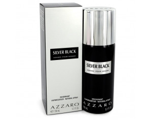 Silver Black by Azzaro...